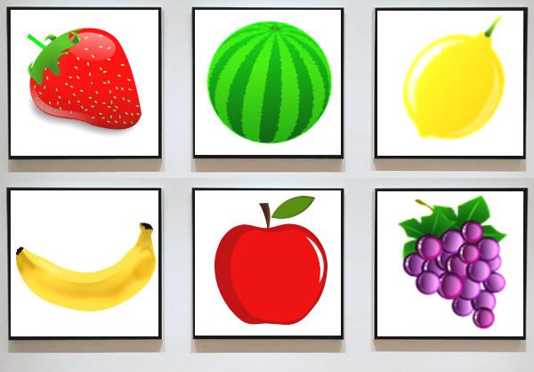 フルーツのイラスト(問題)