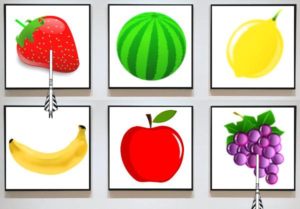 フルーツのイラスト(回答)