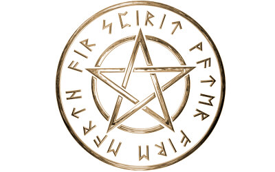 五芒星の画像