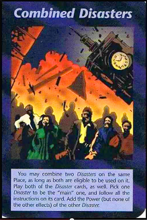 イルミナティカードの画像(Combined Disasters)
