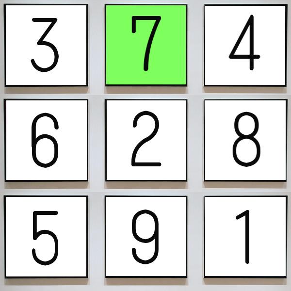 数字のイラスト(答え)