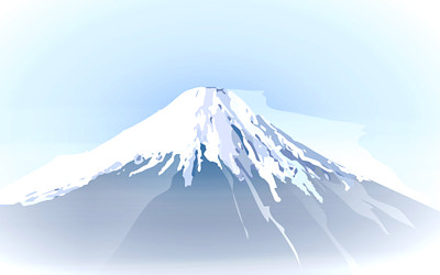 富士山の絵