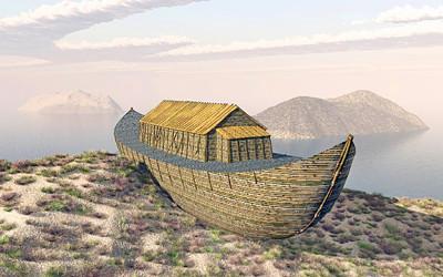 ノアの方舟のイラスト