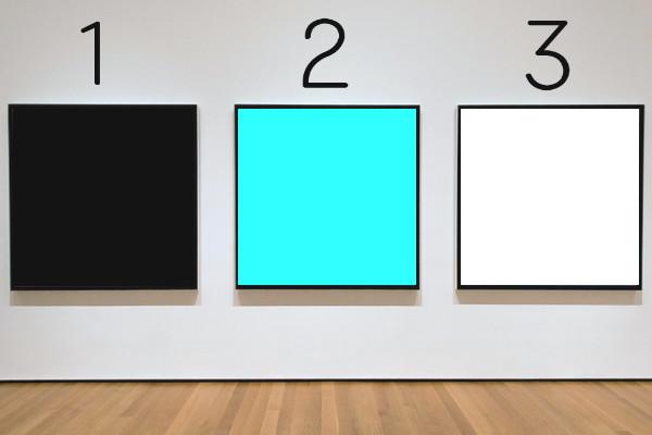 カラー選択の画像(回答)