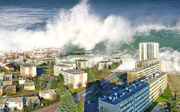 津波のイメージ画像