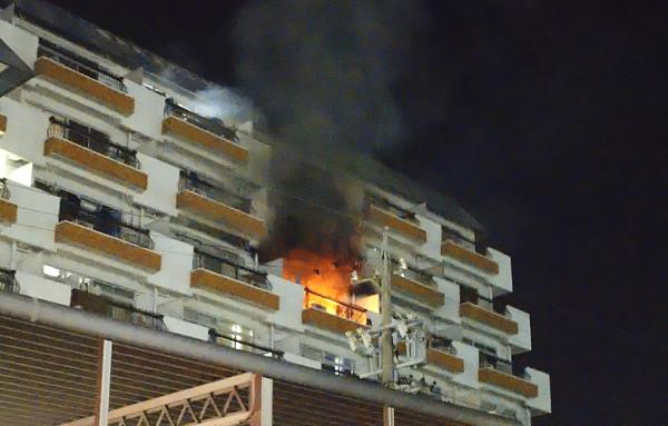 火災の写真