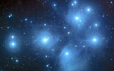 プレアデス星団の写真