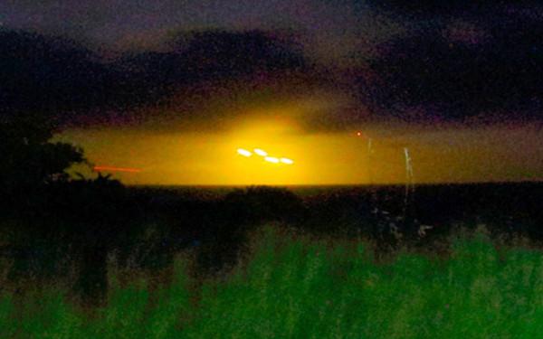 UFOの写真