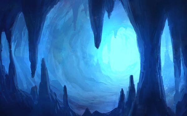 洞窟のイメージイラスト