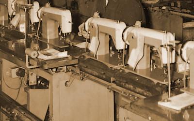 縫製工場の写真