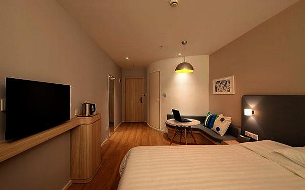 ホテルルームの写真