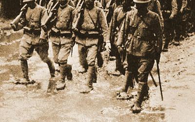 旧日本軍隊の写真