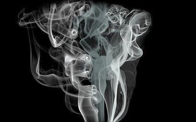 煙のイメージイラスト