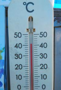 温度計の写真