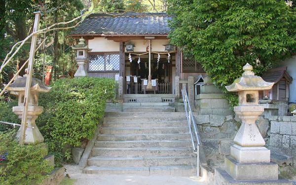 氷室神社の写真