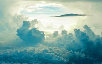 天国のイメージイラスト