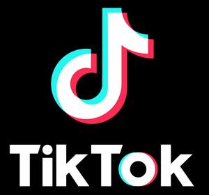 TikTokのロゴ