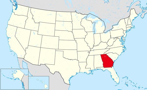 アメリカの地図の画像