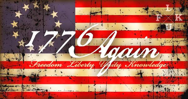 1776 Again のイラスト