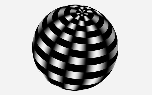 球体のイラスト