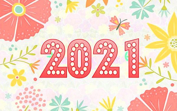 2021年のイメージイラスト