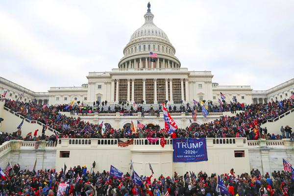 ワシントンDCの議事堂の写真
