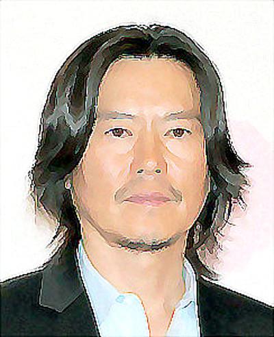 豊川悦司さんのイラスト