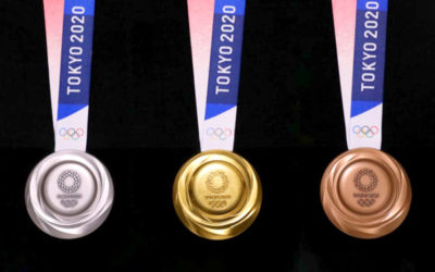 東京2020オリンピックのメダルの写真