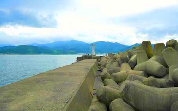 防波堤の写真
