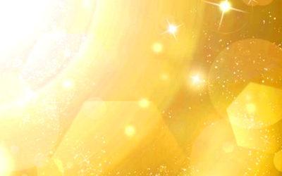 金色のオーラのイメージイラスト
