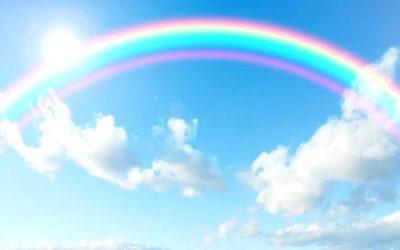 虹のイメージイラスト